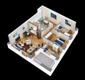 Apartament 3+1 ne Tirane, me 70% financim