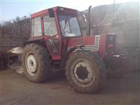 Traktor Fiat 880 DT,  4x4 me plug rretullues.