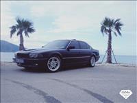 BMW 730 gaz benzin -98