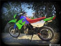 Motorr kavasaki klr 650 -02