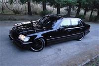 Mercedes benz sl 7.3 AMG  Blind president