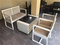 Komplet tavoline + karrige