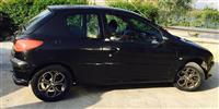 Peugeot 206 benzin+gaz