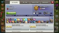 Clash of clan  lvl 109 max th9