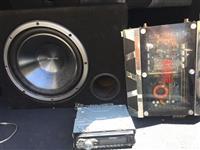 vufer - kenwood amplifikator kasetofon - pioner