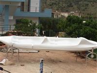 Shesim  cano ne Ksamil - sarande . Kemi dy kanoe t