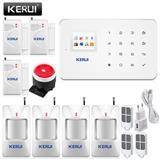 Sistem Alarmi KERUI G18 Wireless GSM 4+3 Sensore
