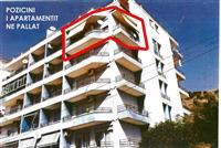 Apartament 2+1 me sip 80 m2 prapa turizmit