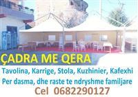 Çadra tenda per evente te ndryshme dasma etj