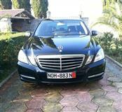 Mercedes Benz E200 Avantgarde Blue efficiency 2012