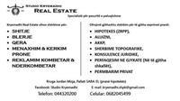 Studio Kryemadhi Ligjore & Real Estate ofron: