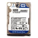 HDD PER LAPTOP 640GB