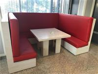 Pajisje lokali karige tavolina