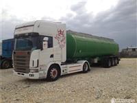 Scania 460 + Cisterna