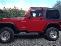 Okazjon jeep wrangler 2.5 benzin gas