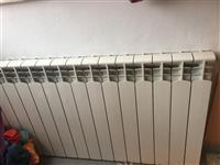 Kaldaje me gaz per ngrohje Ferroli + radiatore