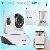WIFI IP Kamera Wireless KERUI N62 Sistem Alarmi
