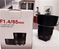 �������� Samyang 85mm f/1.4 Aspherical IF Lens for