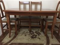 Tavoline salloni per 6 & 8 persona