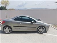 Peugeot cabriolet gri