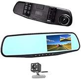 Pasqyrë me kamera për të regjistruar trafikun