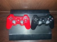 Play station 3 500 gb me dy leva