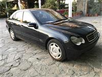 Mercedes C200 kompressor Benzin+Gas