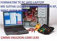 SHERBIME OKAZION FORMATIM PC, LAPTOP, SMARTPHONE,