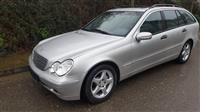 Mercedes C200 cdi..157mij km me liber servisi