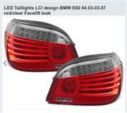 BMW E60 stopa facelift