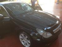 Mercedes Benz cls320  krah anglez