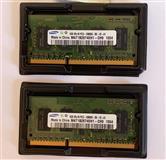 Samsung 1GB 2Rx16 PC3 10600S DDR3 2gb total