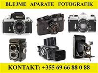 Blej Aparate Fotografik (modele te Reja & Vjetra)