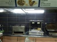 Shten pajisje fast foodi dhe banak