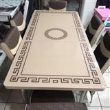 Tavolina ngrënie me 6 Karrike