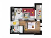 Apartament 1+1, Zogu I Zi