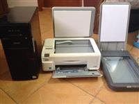 Shitet PC,Printer dhe Skanner,gjendja SUPER,cmimi