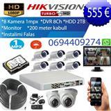 Set kamerash Hikvision me 8 kamera.