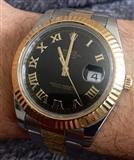Rolex Fair 2, 41 mm, numra romakë prej ari