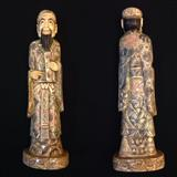 Skulpture ne fildish e viteve 800 , Konfuci