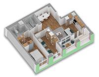 Apartament 2+1 ne Tirane, 70% financim