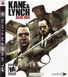 KANE & LYNCH dead men ps3 playstation