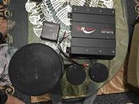 Ampiflikator 550watts me 2 bokse oringinal