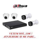 VETEM SOT! DAHUA 4 Kamera + DVR SUPER OFERTE 110€