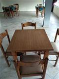 Tavolinat+karriget, 7 komplete