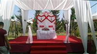 Tenda me qera karrige dhe tavolina per dasma