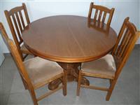Tavolin me karrige