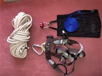 Rock climbing kit per alpinizem.