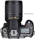nikon d80+lens nikon 18-105mm,me nje bateri,cante