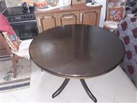 Tavolinë buke për guzhin pa hapur 110cm hapur150cm